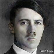 Hitler jóven y guapo