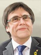 Portrait Catalonia Carles Puigdemont