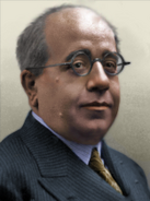 Portrait CNT Manuel Azana Diaz