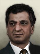 Portrait Afghanistan Babrak Karmal