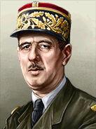Portrait France Charles De Gaulle