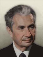Portrait Italy Aldo Moro