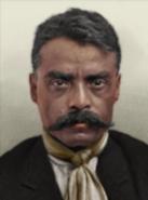 Portrait Kaiserreich Emiliano Zapata