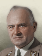 Portrait Generalgovernment Hans Frank