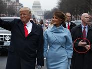 Trump con su guardaespaldas