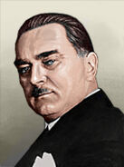 Portrait Yugoslavia Milan Stojadinovic