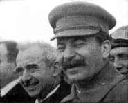 Stalin and Ismet Inonu,1932