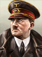 Portrait Germany Adolf Hitler