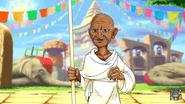 Bully Magnets Gandhi