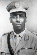 Siad Barre, dictador de Somalia