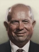 Portrait Tyumen Nikita Khrushchev