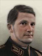 Portrait Bulgaria Simeon II
