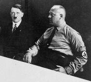 Hitler y Strasser