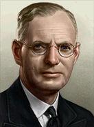 Portrait Australia John Curtin