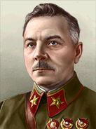 Portrait Soviet Kliment Voroshilov