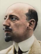 Portrait Kaiserreich Gabriele D'Annunzio