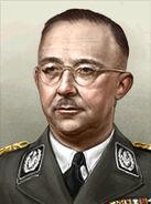 Portrait Germany Heinrich Himmler