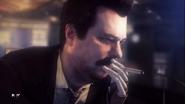 Travis smoking