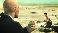47 and Lenny in a Desert