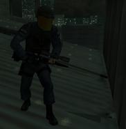 R93 у снайпера спецназа