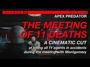 HITMAN 3 - The Meeting of 11 Deaths - A Cinematic Cut of Killing All 11 Agents During the Meeting