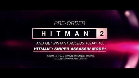 HITMAN™ 2 Sniper Assassin Trailer