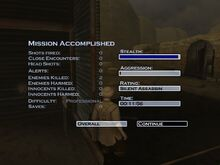 Silent Assassin with 2 guards killed..jpg