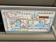 Train route map have Tuen Ma Line befroe operate