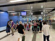 To Kwa Wan entry gate 27-06-2021