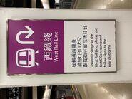 Hung Hom old platform teach to take West Rail Line 20-06-2021(1)