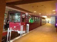 Peak Tram in The Peak Station 20-03-2015