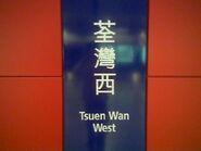 Tsuen Wan West name board 09-06-2010