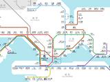 圖庫:港鐵路綫圖