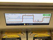 East Rail Line interchange Tuen Ma Line display 22-07-2021(2)