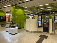 South Horizons information desk and self service machine 30-08-2020