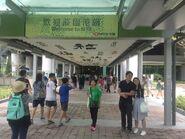 Ho Man Tin Exit B1 footbridge 23-10-2016