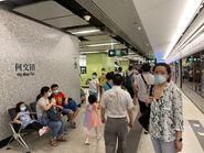 Ho Man Tin Tuen Ma Line platform 27-06-2021(2)