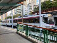 1114 plus 1111(143) MTR Light Rail 706 14-08-2020