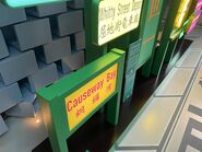 Hong Kong Tramways World Record Pop-Up Store tram place name board 21-08-2021(2)