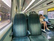 MTR East Rail Line MLR Train First Class compartment 04-07-2021
