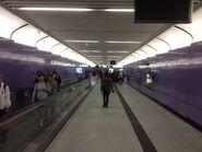 Sai Ying Pun Exit B to concourse corridor 29-03-2015(2)