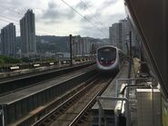 TML Train run MTR Ma On Shan Line 24-06-2017