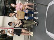 MTR Tseung Kwan O Line compartment chair 04-07-2020