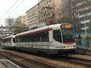 1002 plus 1045(191) MTR Light Rail 761P 08-12-2018