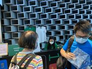 Hong Kong Tramways World Record Pop-Up Store cashier 21-08-2021(2)