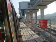 Lo Wu Station platform 1 during reconstruction 2