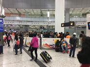 West Kowloon entry(many passengers)