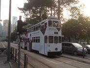Hong Kong Tramways 149(129) Sheung Wan(Western Market) to Shau Kei Wan 11-07-2015