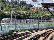 R Train run MTR East Rail Line near Hin Keng Station 16-08-2021