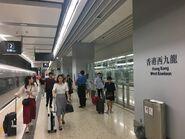 Hong Kong West Kowloon Platform 08-07-2019